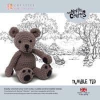 Knitty Critters Crochet Kits - Culbute Ted